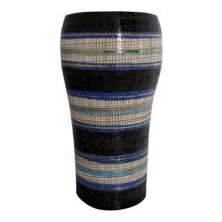 Vintage Italian Sgraffito Vase