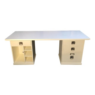 Pottery Barn White Bedford Desk
