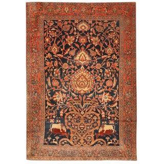 Antique 19th Century Persian Sarouk Rug