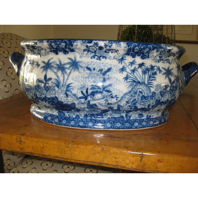 Image of Large Asian Container With Handles