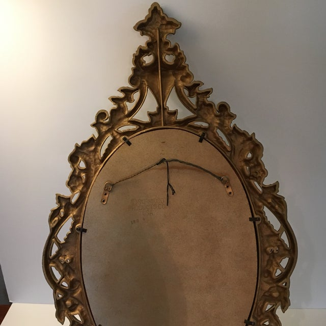 Image of Burwood Products Gold Ornate Mirror