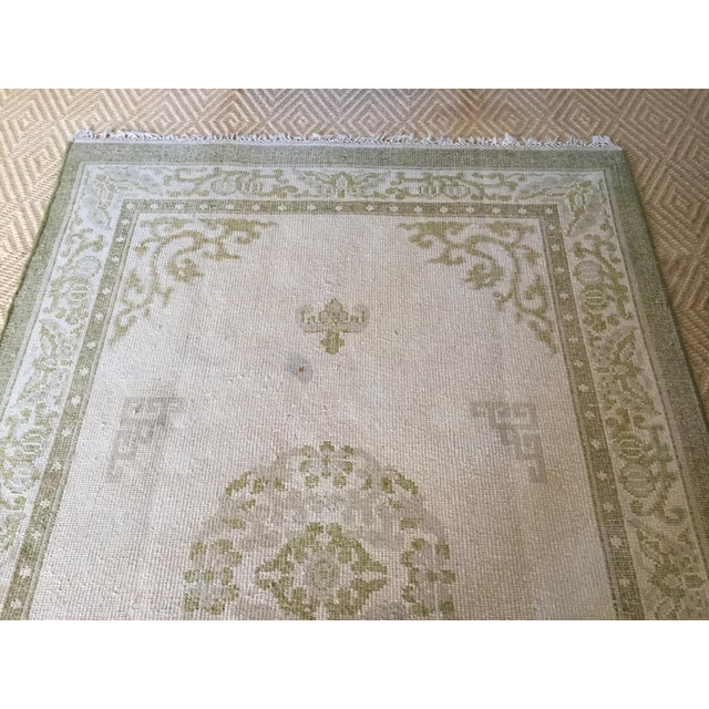 "Vintage Asian Area Rug - 5'11"" X 9'4"" - Image 4 of 5"