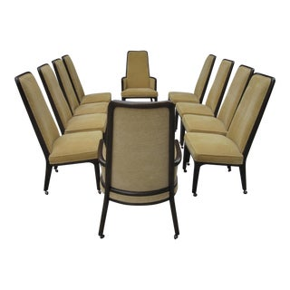 1970's Arthur Elrod Monteverdi-Young Dining Chairs - Set of 10