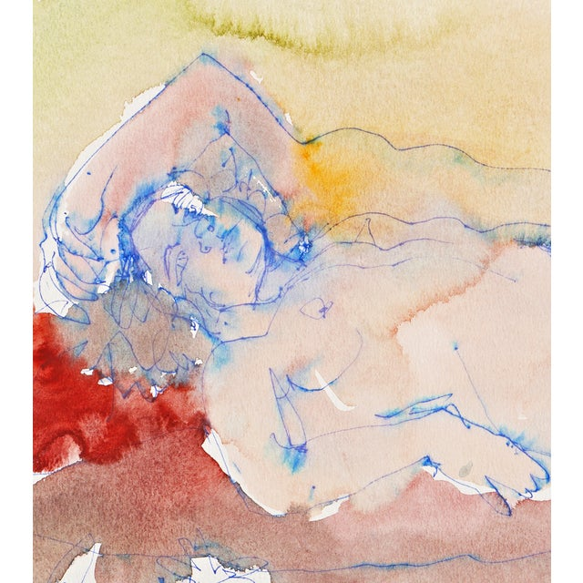 Image of Janet Ament 1955 Reclining Nude