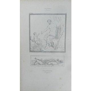 1840 Aine H. Roux Antique Engraving