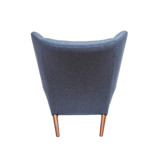 Pavel Wingback Armchair - Image 3 of 6