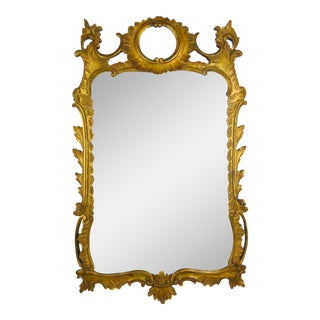 Palladio Rococo Style Gilt Mirror