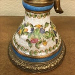 Image of Antique French Floral Candleholders - Pair