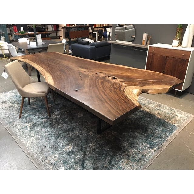 10 Solid Wood Single Slab Dining Table Chairish