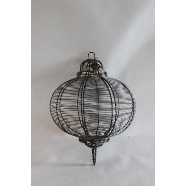 Image of West Elm Circular Hanging Lantern