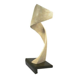 Vintage Mid-Century Signed Abstract Sculpture