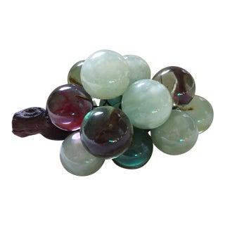 Multi Color Lucite Grape Cluster