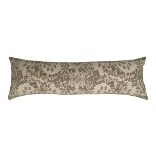 Original Folly Cove Designers Hand Block Printed Clover Pillow