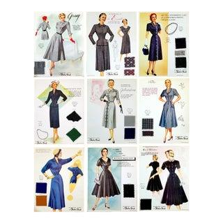 1950's Fashion Frocks Inc. Salesman Sample Cards- S/9