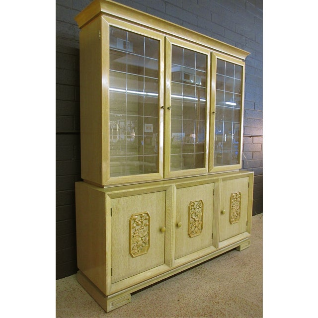 James Mont Attributed Oriental Two-Piece Buffet - Image 2 of 11