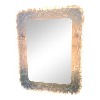 Vintage Backlit Ice Mirror