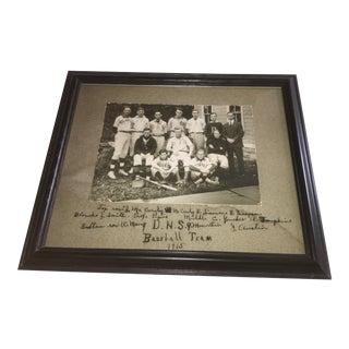 1915 Baseball Team Reproduction Photograph