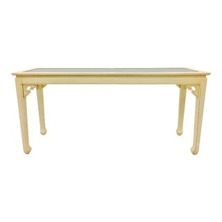 Vintage Mid-Century Modern Asian Style Console Table