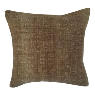 Natural Woven Kilim Pillow