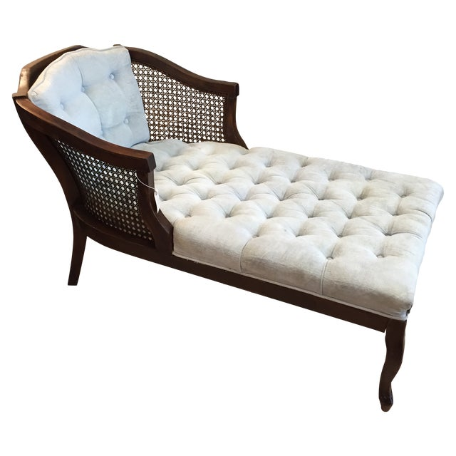 Vintage chaise settee chairish - Chaise daling ...