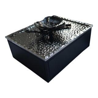 Michael Aram Black Orchid Jewelry Box