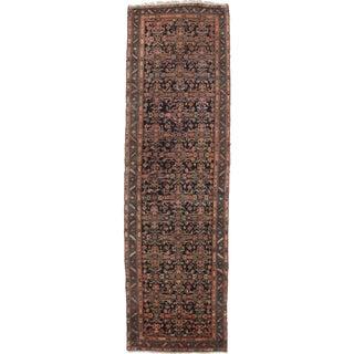 "Antique Persian Mahal Runner - 3'6"" x 12'"
