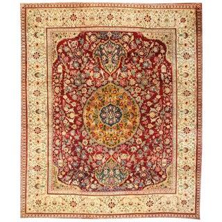 Antique 19th Century Agra Carpet