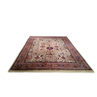 Traditional Hand Made Knotted Rug - 9x12