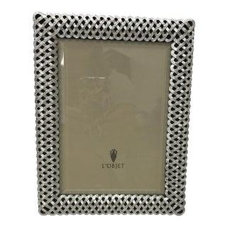 l'Objet Platinum Braided Frame