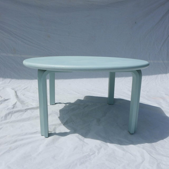 Duck Egg Blue Mid Century Coffee Table Chairish