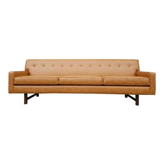 Butterscotch Faux Leather Lucy Sofa