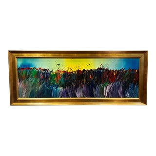 Original Framed Modern Painting
