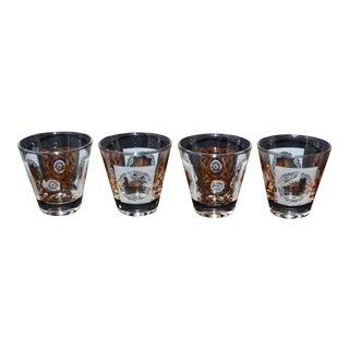 Mid-Century Cocktail Glasses - Set of 4