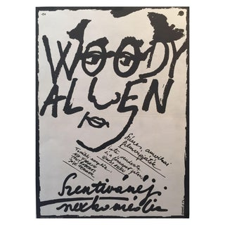 Original Wood Allen Film Poster