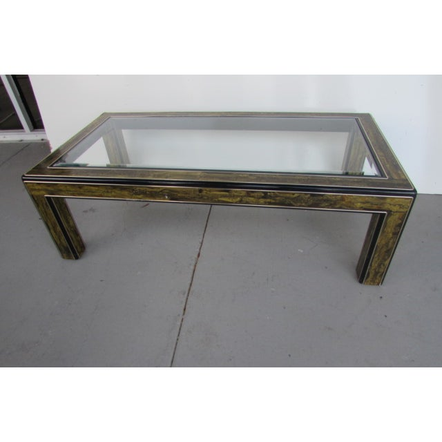 Acid Etched Coffee Table by Bernhard Rohne - Image 2 of 3