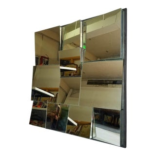 Mid-Century Neal Small Slopes Mirror
