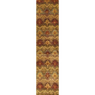 "Ikat Wool Area Rug - 2'9"" x 11'10"""
