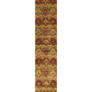 """Ikat Wool Area Rug - 2'9"""" x 11'10"""""""