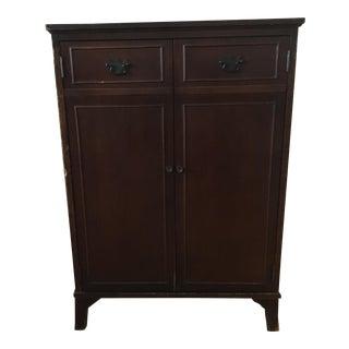 Vintage Solid Wood Standing Cabinet