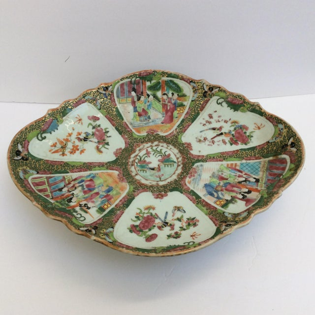 Chinese Canton Famille Rose Serving Platter - Image 4 of 11