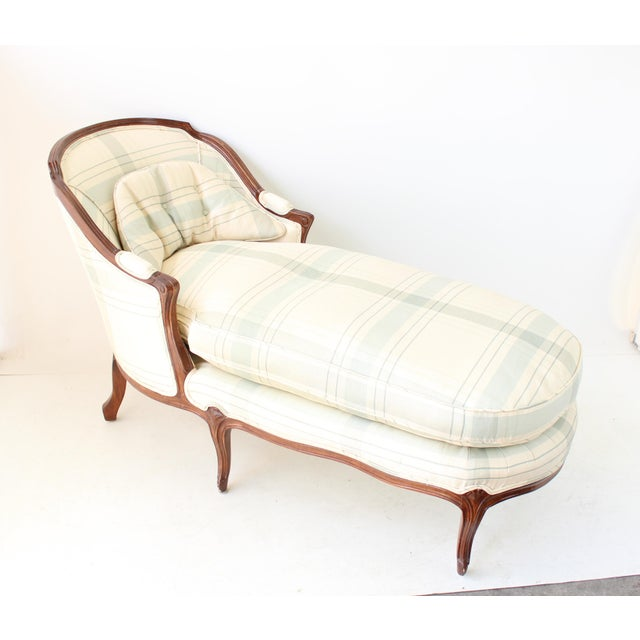 Vintage French Country Chaise Lounge Chairish
