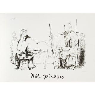 Pablo Picasso, Le Pientre Et Modele, Lithograph
