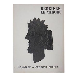 Vintage Braque Lithograph-Derriere Le Miroir