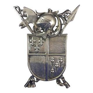 Cast Aluminum Coat of Arms