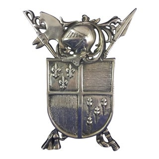 Cast Aluminum Coat of Arms