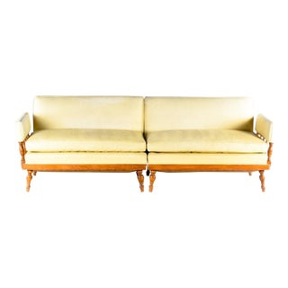 Vintage Buttercup Sectional Sofa