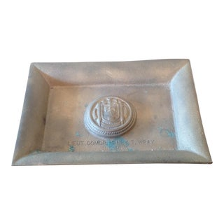 WWII US Navy Ashtray