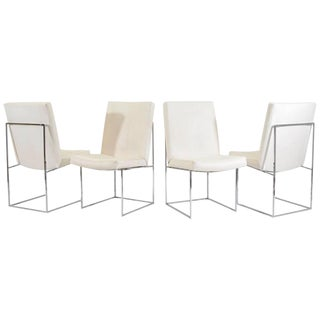 "Set of Four (or Eight) Milo Baughman for Thayer Coggin ""1187"" Dining Chairs"