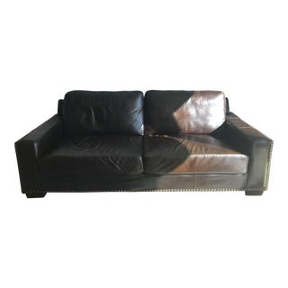 Abbyson Living Beverly Leather Sofa