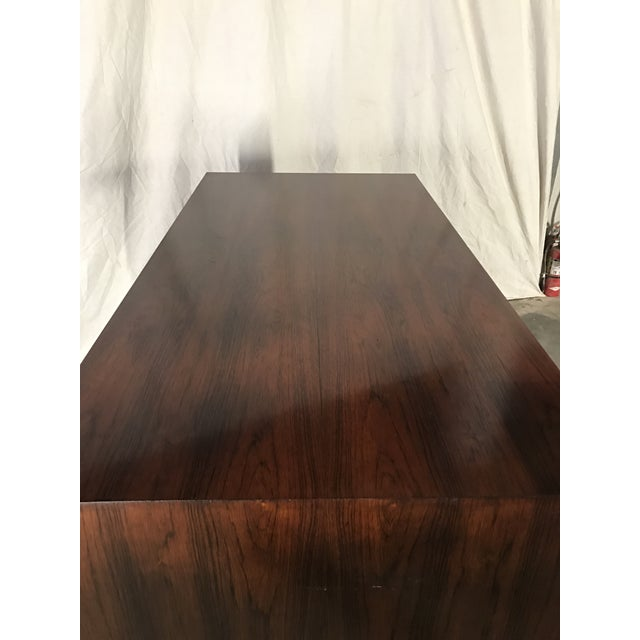 Ed Wormley Rosewood English Oak Desk - Image 9 of 11